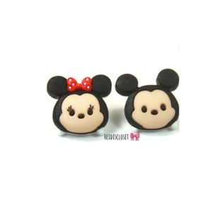 Minnie & Mickey Mouse Ear Studs. 🆕